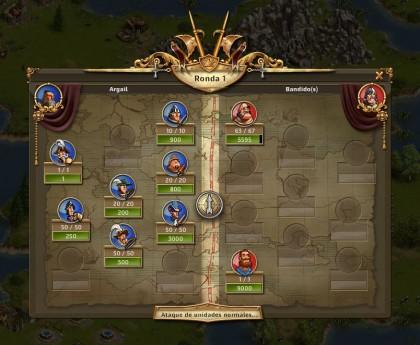 simulador de batallas the settlers online