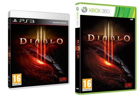 Diablo3 para PS3 y Xbox