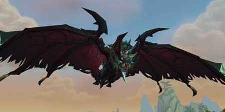 World of Warcraft WoW Alasangre acorazado