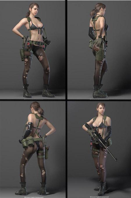 Metal Gear Solid 5 se vuelve un poquito mas erótico