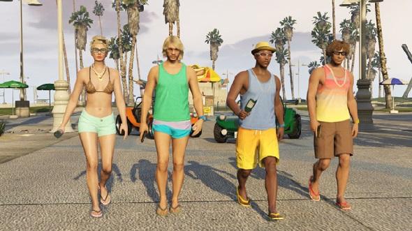 Primer DLC de GTA5 Online